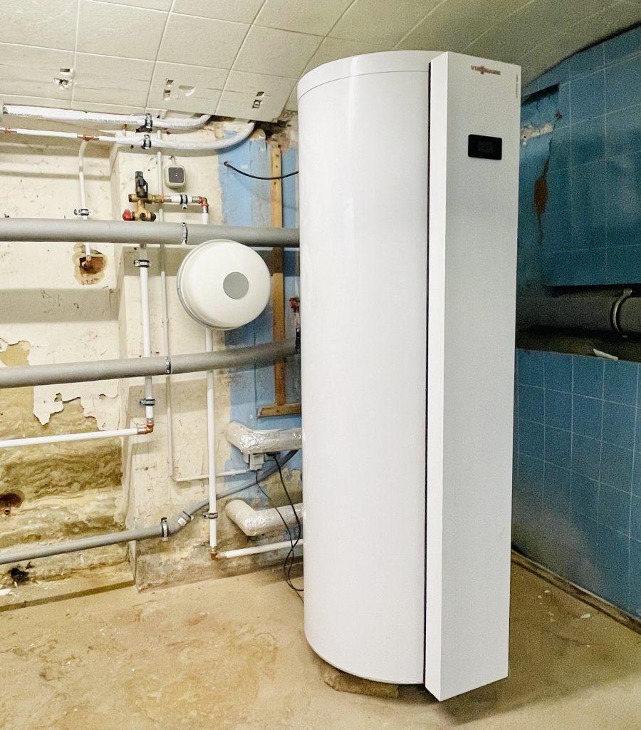 Heizung Warmwasser Wärmepumpe